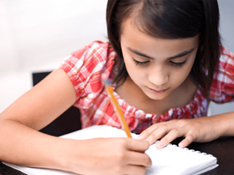 girl-writing-occupational-therapy-space-coast-neuropsychology